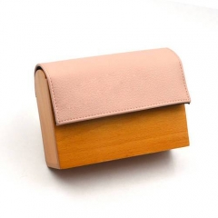EV126-1 Factory direct wholesale wood evening clutch bag for party