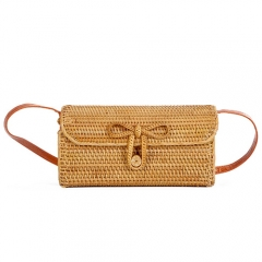 BC0121 Custom bag manufacturers Mini Small Beach Rattan Bag for lady