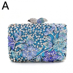 EV78343 High Quality Lady Crystal Clutches Custom Available