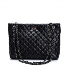 PU2088 2019 fashion quilted leather handbag branded luxury handbags for women