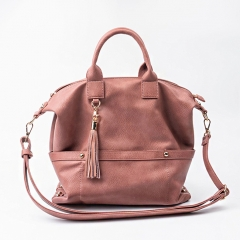 PU2266 Western Style OEM Custom Ladies large handbag high quality shoulder bags with tassel