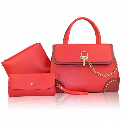 PU2283 China Wholesale 2019 New Arrival Unique Design 3in 1 Hand Bags
