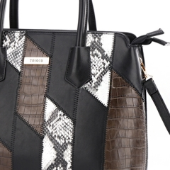 PU2297 Top selling products Snake alligator Print Women Tote bags handbags
