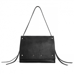 LT2023 OEM simple design womens fashion bag soft leather ladies tote bags big capacity handbag