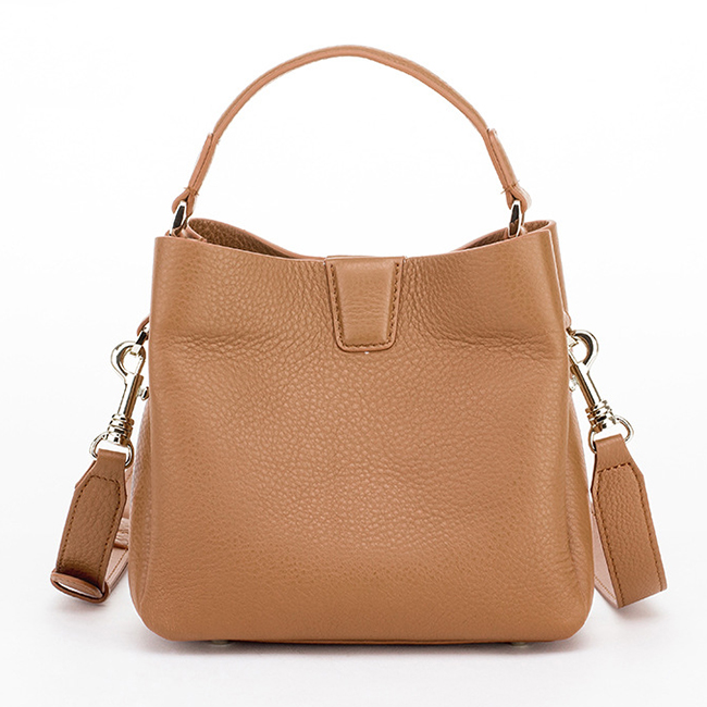 LT2024 2020 Fashion High Quality Genuine Leather Handbag Ladies Tote Bucket Bags Wide Strap Women Shoulder Bag