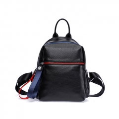 LT2025 2020 New Fashion Genuine Leather Women Backpack Youth Cowhide Backpacks Girls School Bags
