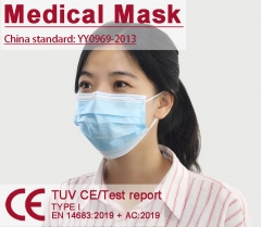 Disposable Medical Mask BEF 95% filtration rate filter Coronavirus
