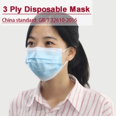 3ply Disposable Mask for Covid-19 pandemic Daily use