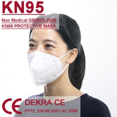 FFP2 KN95 with Dekra certificates BEF 95% for coronavirus pandemic protection