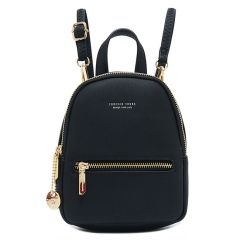 PU2414 Korean Fashion Design Ladies Backpacks Crossbody Sling Bag Small Backpack For Ladies