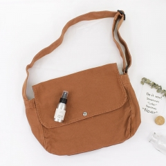 PU2453 Factory Directly Wholesale Classic Hand Bag Women Strong Canvas Crossbody Shoulder Bag