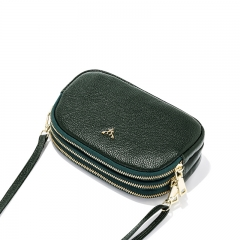 LT2062 New arrival high quality cow leather small crossbody bags women handbags purses