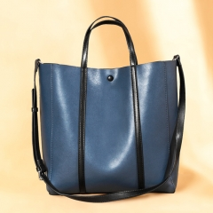 LT2063 New Arrival Large Capacity Handbags Soft Leather Tote Shoulder Bags for Women