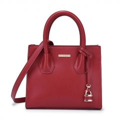 LT2078 Hot sale Guangzhou factory lady tote fashion genuine leather handbag women crossbody bag
