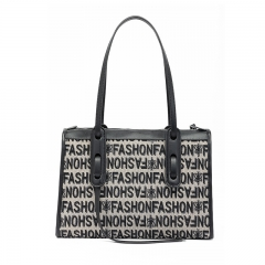 LT2081 Personalized Monogram customized design fashion handbag women tote shoulder bags