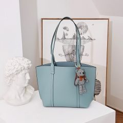 LT2085 OEM fashion ladies shopping hand bags high capacity handbag genuine leather tote bag for ladies