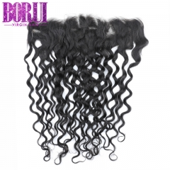Borui Water Wave 13*4 Lace Frontal Unprocessed Hair Remy Human Hair Virgin Hair