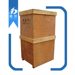 Vertical wooden box