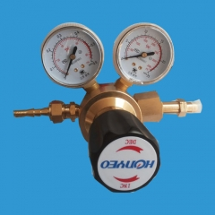 Copper alloy single stage pressure reducer