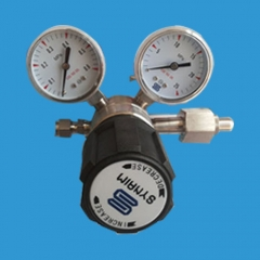 Stainless steel single stage pressure reducer