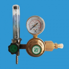 Copper alloy single stage pressure reducer(With flow meter)
