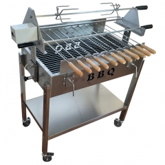 Turkey cyprus rotisserie BBQ grill for chicken meat shawarma kebab