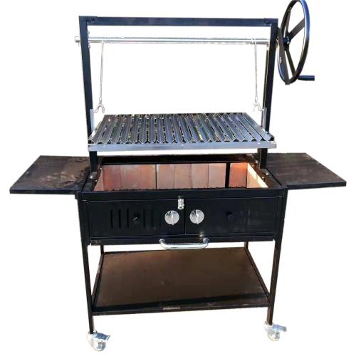 Santa Maria 36″ w/Fire Brick Built In Grill