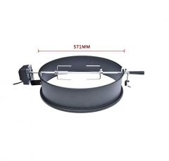 about Onlyfire Stainless Steel Rotisserie Ring Kit 21.5- 22.5