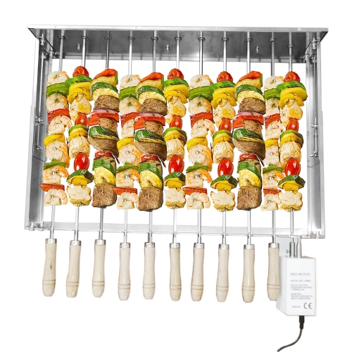 Stainless Steel Removable skewer 11 pcs 70x40cm