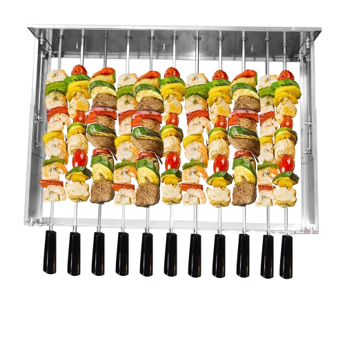 HDWYSY Grill Company Kabob Rack with Skewers Set