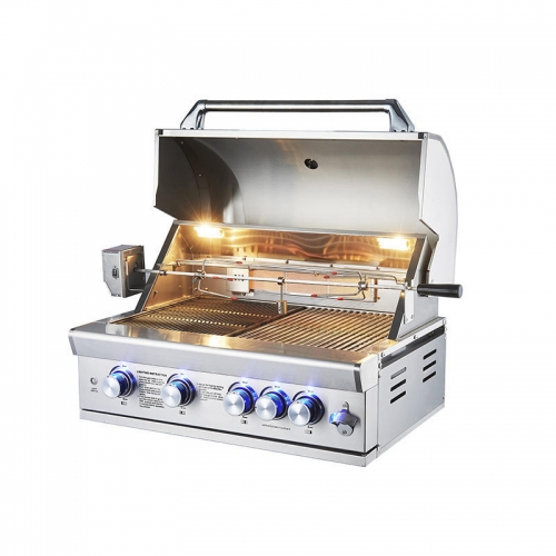 Stainless steel gas stove barbecue grill