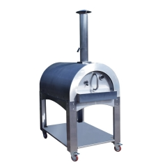 Popular Outdoor Hot Sale Stainless Steel Wood Fired Pizza Oven