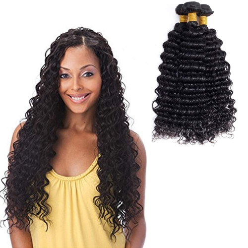 Deep Wave Brazilian Human Hair 3 Bundles Kbeth Virgin Hair