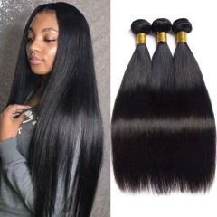 Kbeth 8A Straight 3 Bundles Malaysian Unprocesed 100% Human Hair