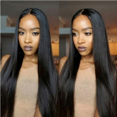 Color 1b Peruvian Straight Hair 3 Bundles/Lot Top Kbeth Hair