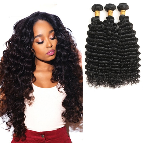Kbeth Malaysian Virgin Hair Deep Wave 3 Bundles