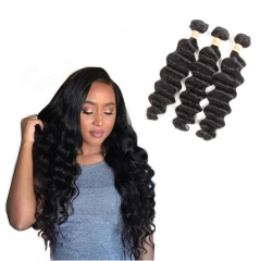 Kbeth Hair 3 Bundles Loose Deep Malaysian