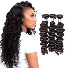 Kbeth Peruvian Loose Deep Wave Natural Color 3 Bundles Deals