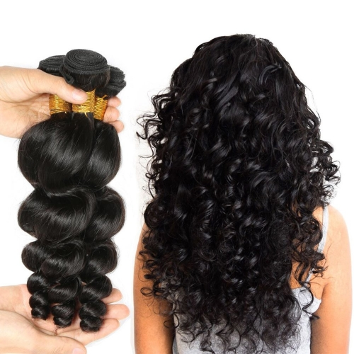 Kbeth 9A Malaysian Loose Wave Human Virgin Hair 3 Bundle Deals Unprocessed Best Malaysian Hair Extensions