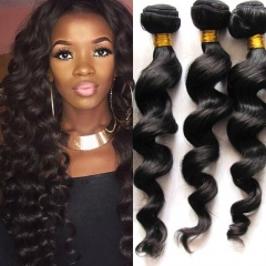 Kbeth Virgin Brazilian Loose Wave Hair 3 Bundles Deals Brazilian Human Hair For Sale