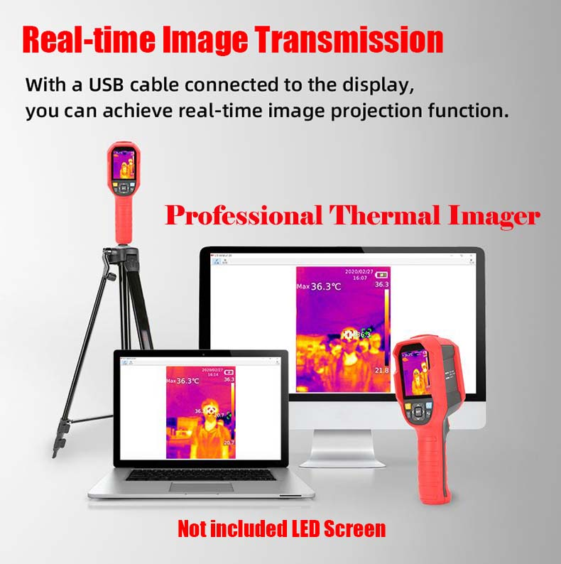 thermal imager Thermography plays an important role in the new covid-19 disease