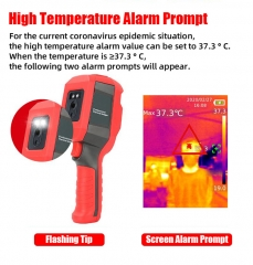 High professional thermal imager Body Temperature fast detected Infrared Thermal Imager LED Thermometer Anti covid products