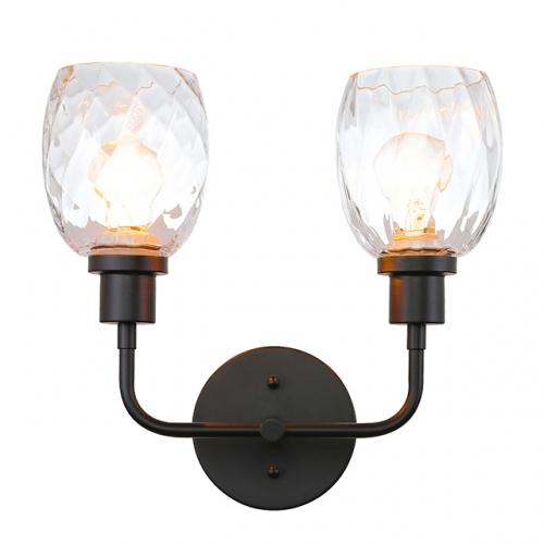 Wall Light 2 Sconce With, Modern Bathroom Light Fixtures Matte Black