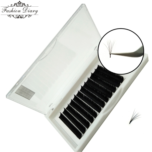 Sample order, One second flower lashes, Fast fanning lashes, Mix length(8-14mm)