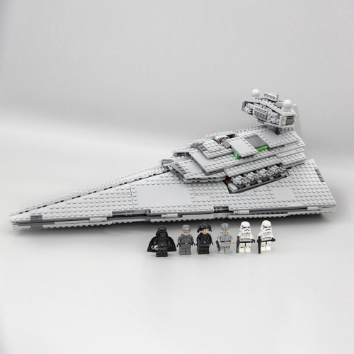 05062  Star War The Imperial Super Star Destroyer  Ship From China 75055