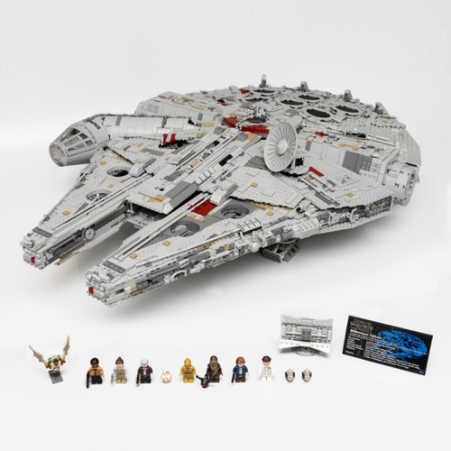 05132  Star Wars Millennium Falcon Ultimate Collector's Model Destroyer  Ship From China 75192