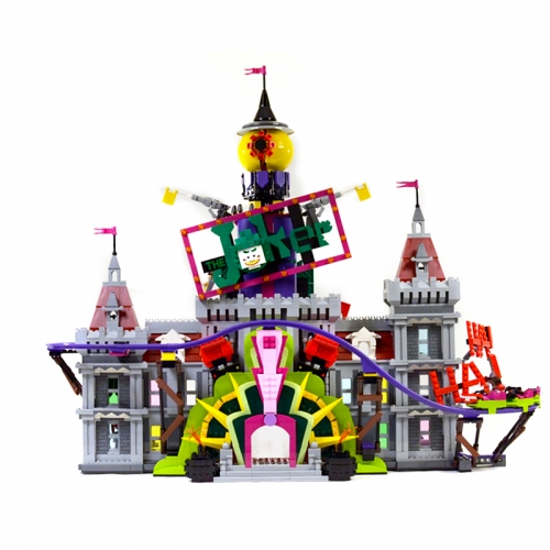 07090  New Super Heroes Batman Movie Series The Joker Manor  Ship From China 70922