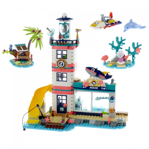 11372 Lighthouse With Floodlight Buliding Blocks Bricks Educational Toy Birthdays Gifts For Child Ship From China 41380