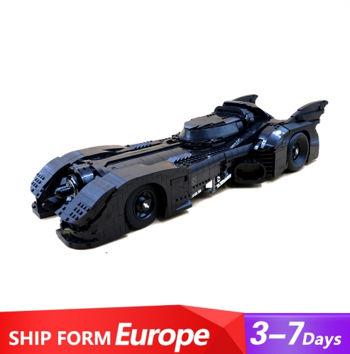 J59005 3306Pcs  Batman 1989 Batmobile Model 76139