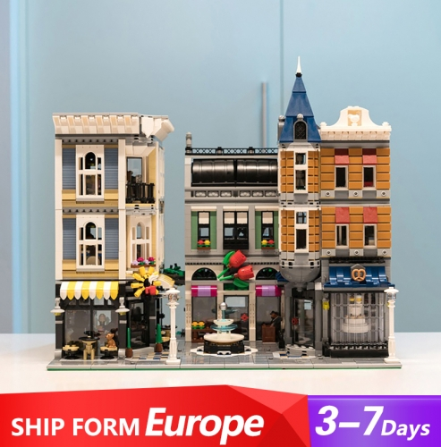 15019 4002Pcs City Street Assembly Square 10255